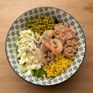 Insalata Gourmet di pesce, Pachira Bar Monselice